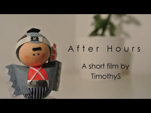 After Hours - a stop motion short film.