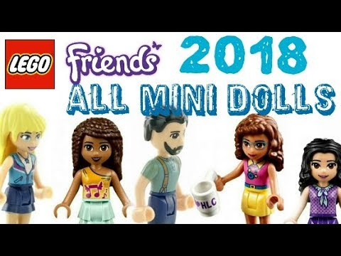 All Lego Friends 2018 Winter Sets Mini Dolls Minifigures Youtube