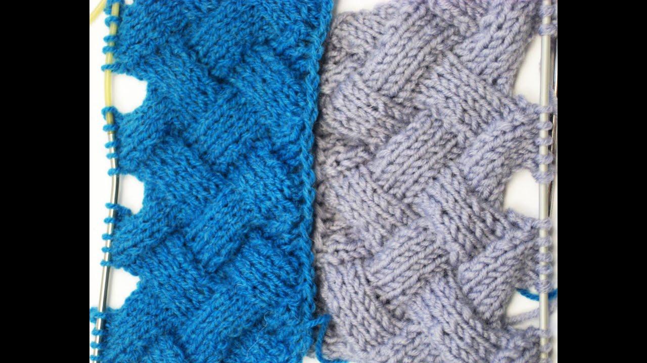 Узор плетенка спицами 12 фотография