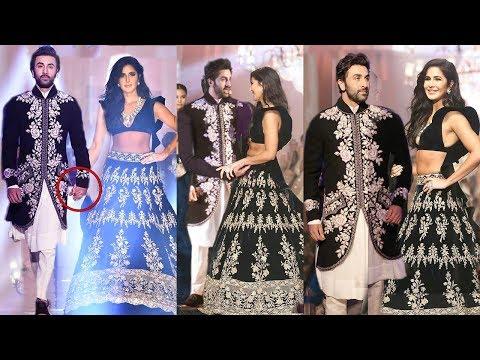 Ranbir Kapoor With EX Girlfriend Katrina Kaif Looking So Happy Holding Her Hands At LFW2019 Mp3