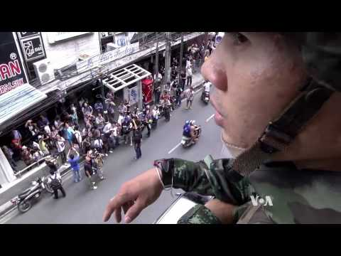 Crackdown on Protests Continues in Thailand