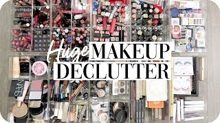 Makeup Declutter + Makeup Collection 2019!