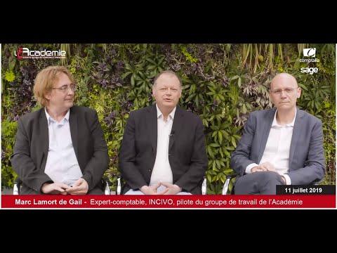 Les Entretiens de l'Académie : Bruno Saurel, Marc Lamort de Gail, Thomas Lommatzsch