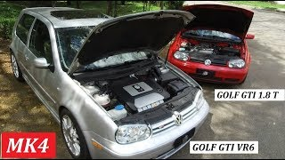 Garagem do Bellote TV: Golf GTI VR6 X Golf GTI 1.8 T (MK4)