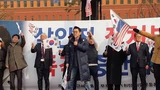 11월20일 제35차 서울역 태극기집회  / 윤창중 대표.