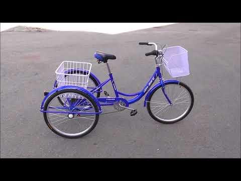 Велосипед грузовой IZH-BIKE FARMER (Иж-байк фермер)