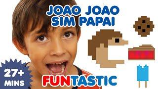 Joao Joao   Johny Johny Yes Papa in Portuguese   Canções infantis