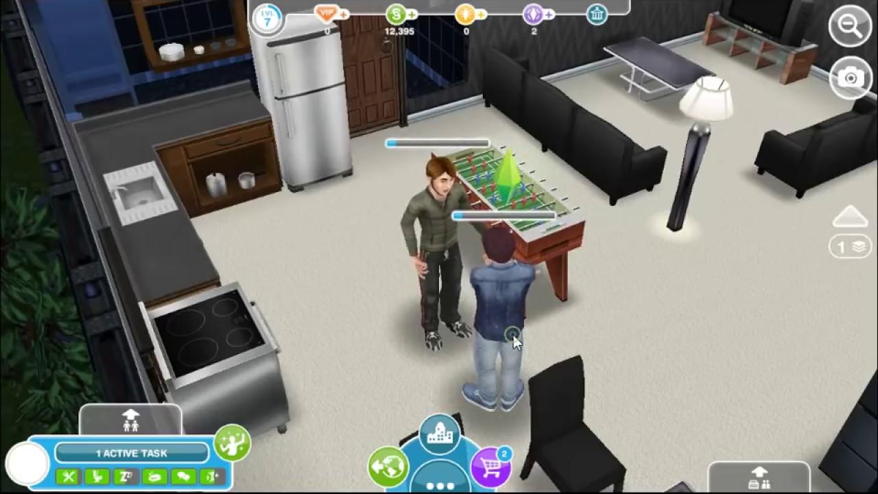 Neighbor S Social Task The Sims Freeplay Youtube