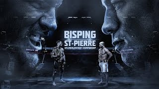 ufc fight talk bisping vs gsp weight cutting and ufc s next star