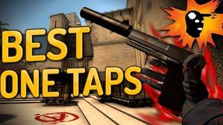 CS:GO - Best One Taps ft. ScreaM, Shroud, Roca & more!