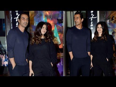Arjun Rampal SPOTTED With Girlfriend Gabriella Demetriades At Hakkasan Mp3