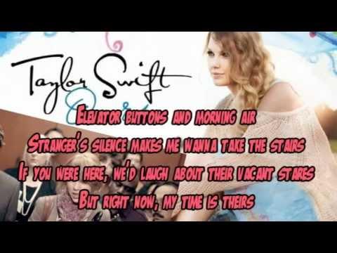 Taylor Swift - Ours karaoke