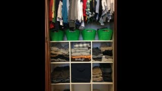2 Kids & A Very Small {closet Organization & Tour}