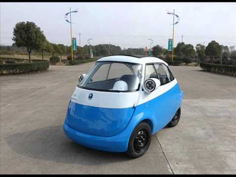Microlino Electric Vehicle Isetta Bubble Car Prototype