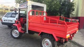 Bahçe Traktörü Arazi Testi ve İncelemesi(Ordu Gölköy Alacık Tepesi)