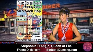 DANCE! September 5th, 12th & October 3rd, 2021 - Stephanie D'Angio, Queen of FDS