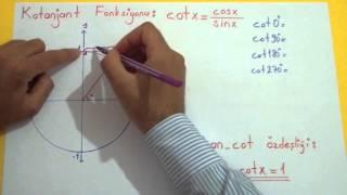 Trigonometri 4 (Tanjant, Kotanjant, Sekant, Kosekant Fonksiyonları) Şenol Hoca Matematik