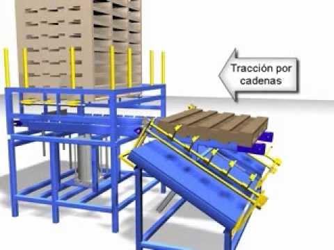 Mesa de clavado para pallets fabrica de paletas youtube for Fabrica de bares de madera