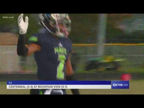 Class 5A Varsity Football Highlights: Centennial Patriots vs. Mountain View Mavericks thumbnail