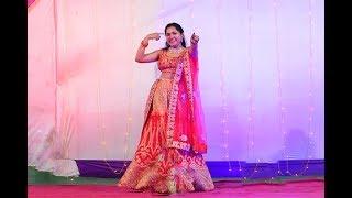 leja leja re | WEDDING DANCE  | Sangeet Choreography  | BRIDE DANCE | DHVANI BHANUSHALI
