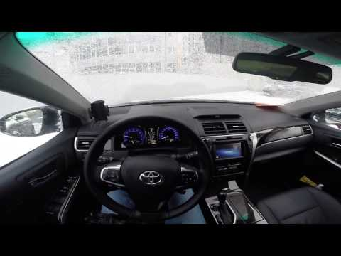 Тойота Камри/Toyota Camry 2016 2.0 Работа штатного догревателя РТС.