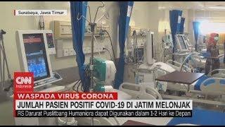 Jumlah Pasien Positif Covid-19 di Jatim Melonjak Melebihi Kapasitas Rumah Sakit