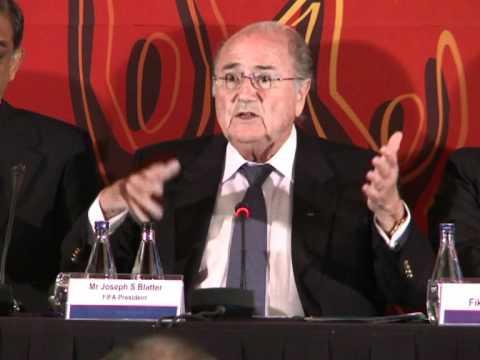 Fifa: Blatter obtient le soutien de l'Afrique