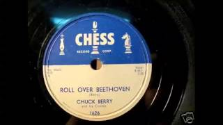 Chuck Berry - Roll Over Beethoven 78 rpm!