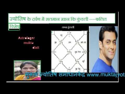 salman khan ki shadi क्यों नहीं हो रही सलमान खान कि शादी --ज्योतिष विशलेषण by muktajyotishs