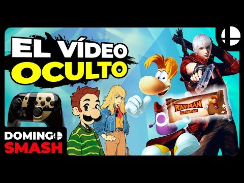 ¡¿RAYMAN CONGELADO!? VIDEO OCULTO, DANTE, CAMINO AL E3 Y LA SAGA MÁS QUERIDA | Domingo Smash #44