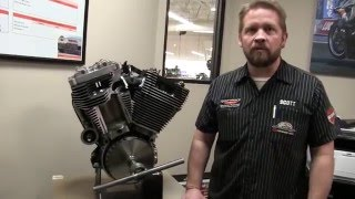 How a Harley-Davidson Big V-Twin Engine Works - Harley Davidson 103 Engine Cutaway View and Demo