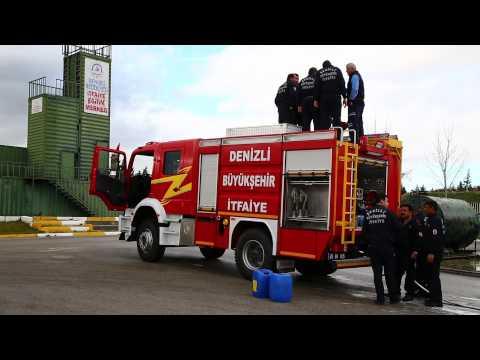 ilçe itfaiye personeline araç eğitimi haber