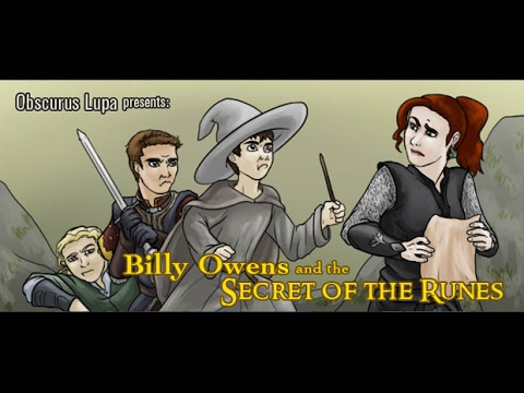 Billy Owens and the Secret of the Runes (2010) (Obscurus Lup