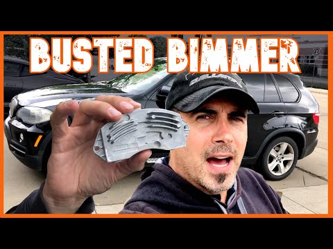 My BMW E70 X5 Car Heater is Not Blowing Any Air!  DIY Repair
