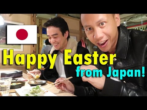 HAPPY EASTER FROM JAPAN (FOOD TRIP!) | April 16th, 2017 | Daily Vlog #85