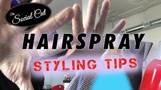 Hairspray Styling Tips