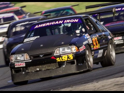 1989 Mustang American Iron Race Car -  One Take