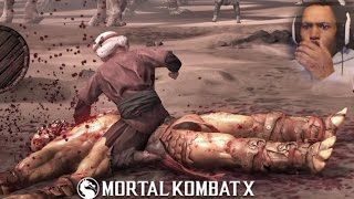SHE IS A SAVAGE | Mortal Kombat X #15 (FIRST ONLINE MATCH, STAGE FATALITY)