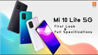 Xiaomi Mi 10 Lite 5g  Full Specifications