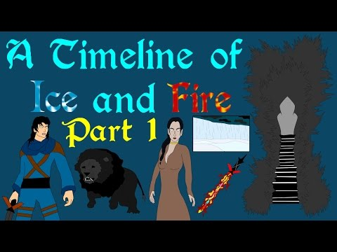 A Timeline of Ice and Fire (Part 1 of 6: Prehistory - 700 BC)