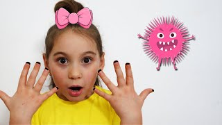 Аня и история про микроб