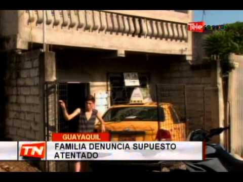 Familia denuncia supuesto atentado