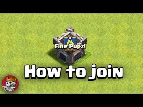 How to Join my clan (In Clash Of Clans)