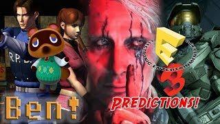 E3 2018 Predictions! Sony, Nintendo, Xbox, and More! | Ben