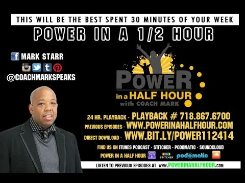 Power In A Half Hour - Episode 7 - The Key 3