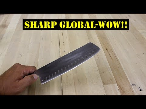 How To Sharpen Global Knives - Tips & Techniques