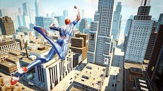 Spider-Man PS4 Free Roam & Combat in The Amazing Spider-Man (PC)