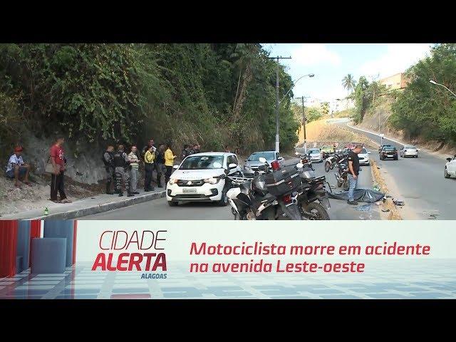 Motociclista morre em acidente na avenida Leste oeste