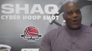 Shaq Cyber Hoop Shot Basketball Arcade with Shaq's Live Video HD