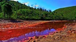 দেখুন স্পেনের ভয়ঙ্কর সুন্দর কঙ্কাল নদী !!!!